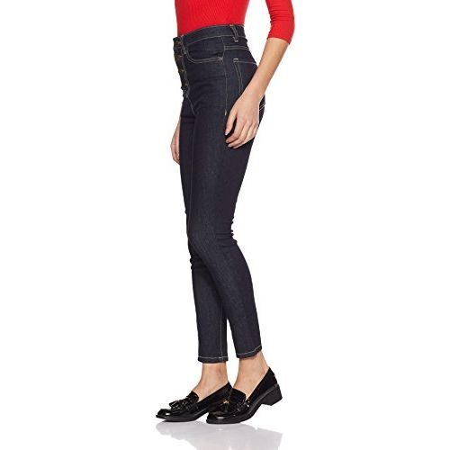 AKA CHIC Women's High Rise Skinny Jeans