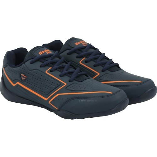 Hitcolus Navy Blue Lace Up Sports Shoes