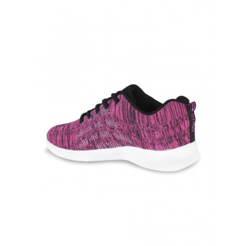 Action Pink Synthetic Lace Up Running Shoes