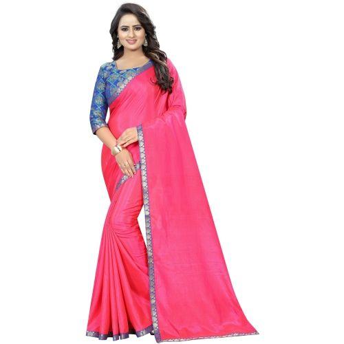 Saarah Solid Fashion Silk Saree