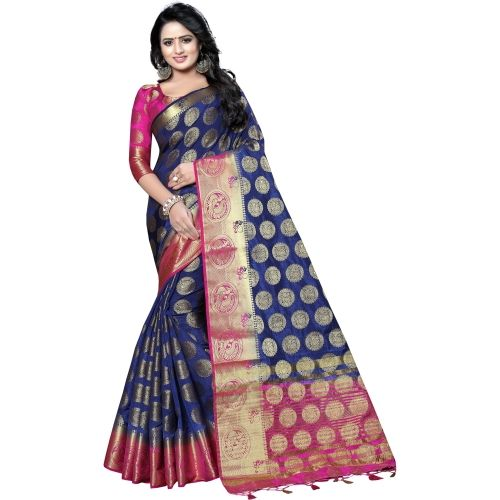 Saarah Embellished Kanjivaram Art Silk Saree