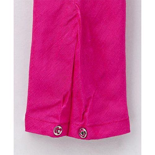Twisha Kalli Kurta With Leggings - Yellow & Pink