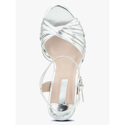 DOROTHY PERKINS Silver Stilettos