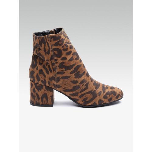 Buy DOROTHY PERKINS Women Brown Leopard