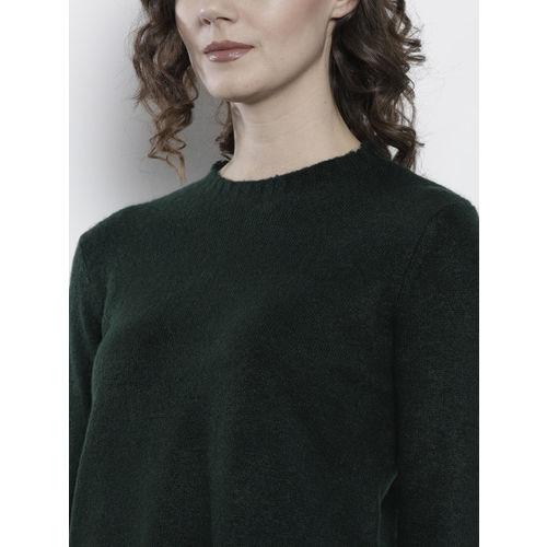 DOROTHY PERKINS Women Green Solid Pullover