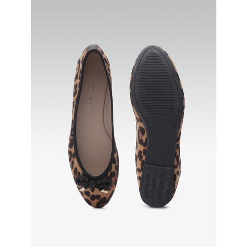 DOROTHY PERKINS Women Brown Leopard Print Ballerinas