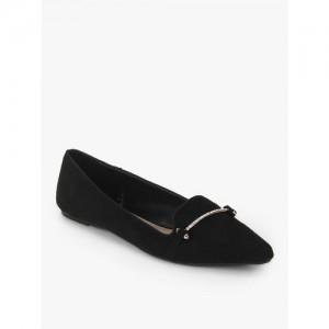 DOROTHY PERKINS Primrose Black Belly Shoes