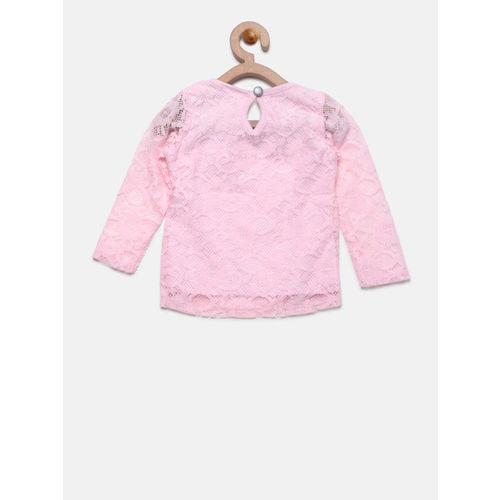 9e4f6661b2c58d Buy 612 league Girls Pink Lace Top online