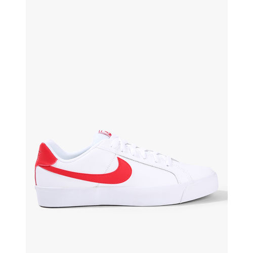 a1b7418df660c2 Buy Nike Men White COURT ROYALE Leather Sneakers online
