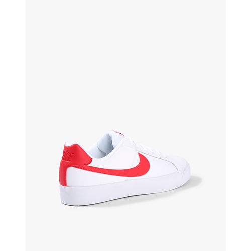 Buy Nike Men White Court Royale Leather Sneakers Online Looksgud In