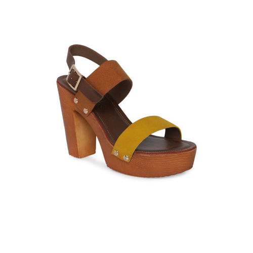Catwalk Women Brown Solid Sandals