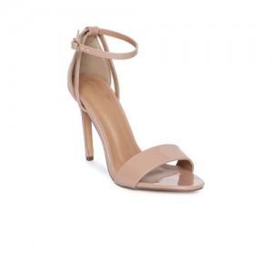 Catwalk Women Skin Color-Coloured Open Toe Sandals