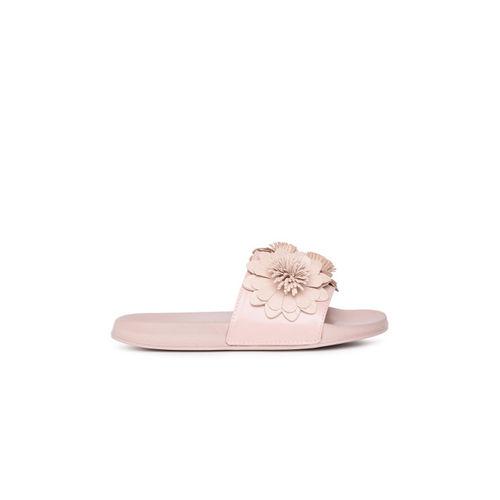 Catwalk Women Pink Open Toe Flats