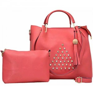 071e5657a0 TYPIFY Leatherette 2Pcs Combo Sling Handbag for Women and Girls College  Office Bag