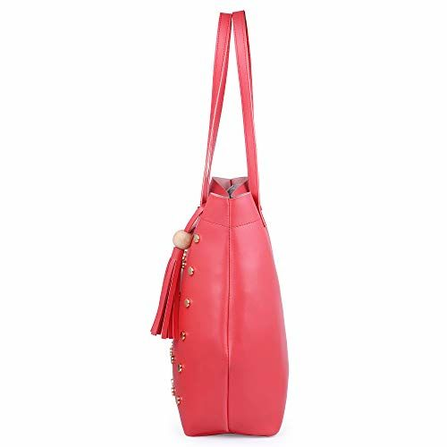 Speed X Fashion Women's Shoulder Bag Combo (Pink)