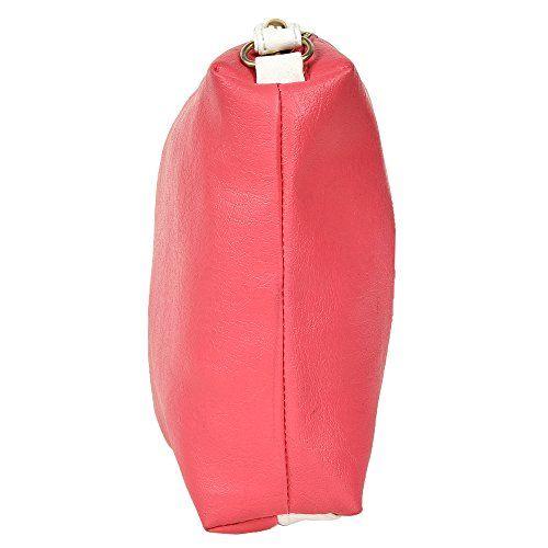 AYASA Women's PU Leather Black Handbag and Sling Bag Combo