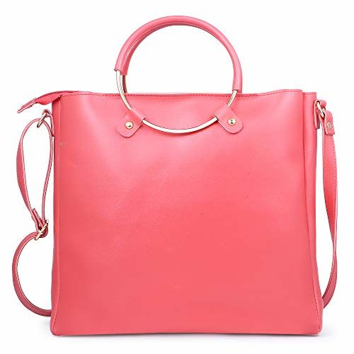 Speed X Fashion Women's Handbags And Shoulder Bag Combo (Pink)