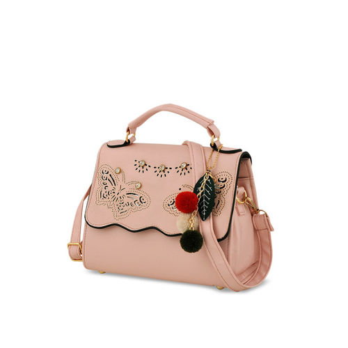 Mark & Keith Women Pink Combo Handbag
