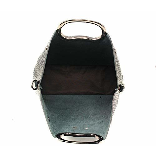 Di Grazia Womens combo set of 3 Tote handbag, Slingbag Clutch and Pouch (black, black-3in1-tote-pouch-set)