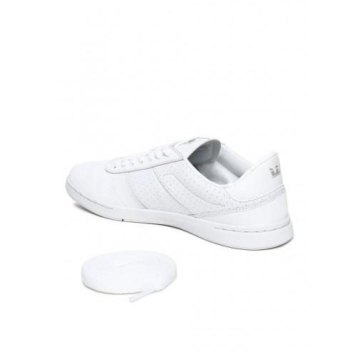 Supra Men White ELEVATE Leather Sneakers