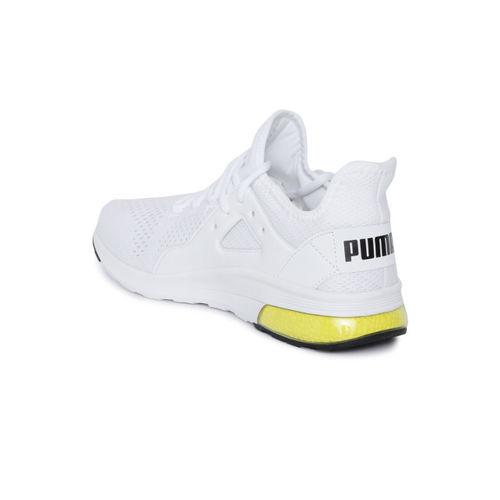 Puma Men White Electron Street Eng Training Shoes