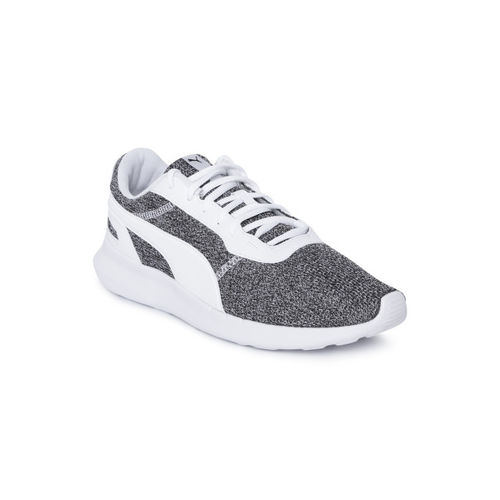 Puma Grey & White St Activate Heather Running Shoes