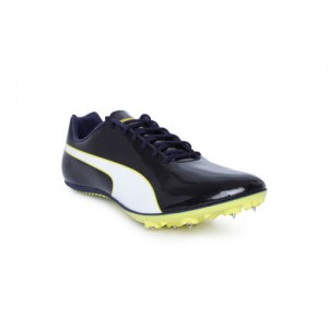 best loved 99898 52aae Puma Unisex Black evoSPEED Sprint 9 Running Shoes