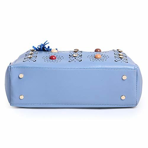 fiesto fashion Latest Stylish Leather Handbag Blue