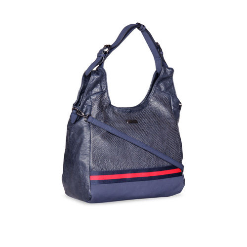 ESBEDA Blue Solid Hobo Bag