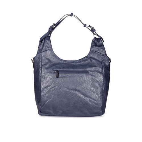 ESBEDA Blue Solid Hobo Bag