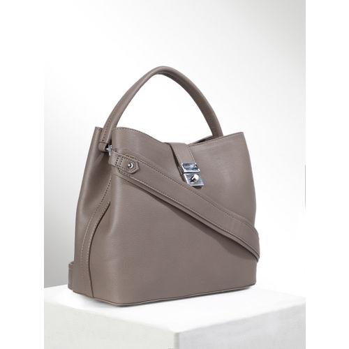 CORSICA Taupe Solid Hobo Bag