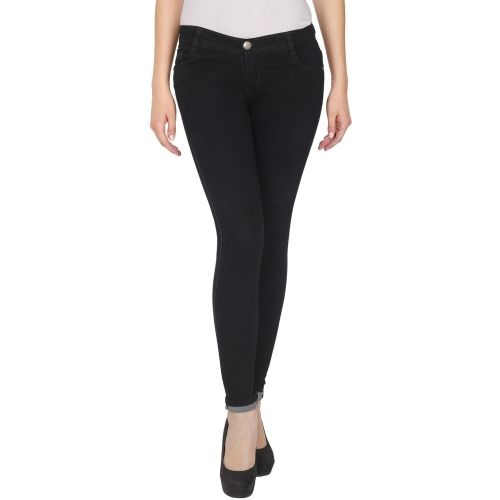 NJS Regular Women Black Jeans