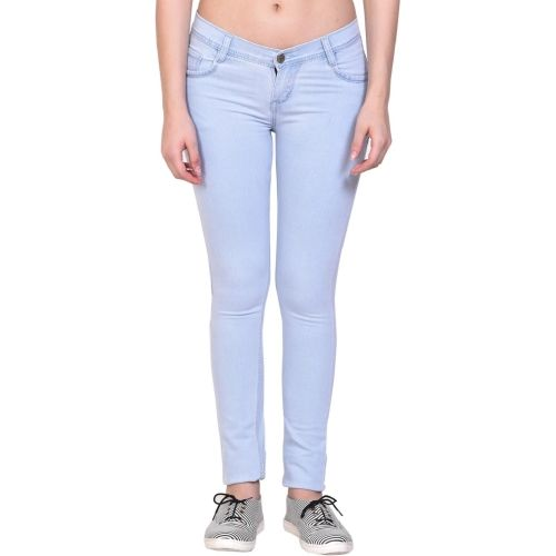 NJS Regular Women Light Blue Jeans