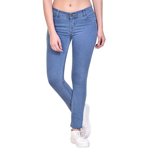 NJS Regular Women Light Blue Jeans