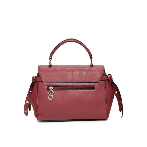 E2O Red Solid Satchel