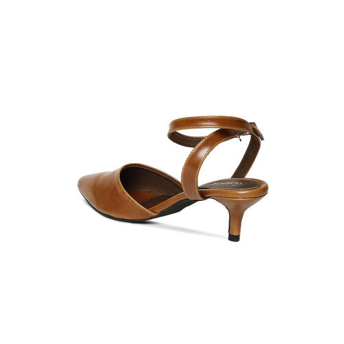 Catwalk Women Brown Solid Heels