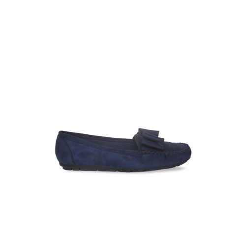 b7b63469016 Buy Flat n Heels Women Navy Blue Loafers online
