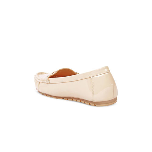Flat n Heels Women Beige Loafers