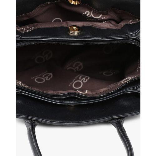 E2O Shoulder Bag with Signature Branding