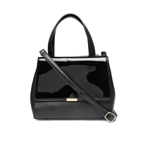 CODE by Lifestyle Black Solid Handheld Bag