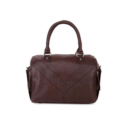Bagsy Malone Brown Solid Handheld Bag
