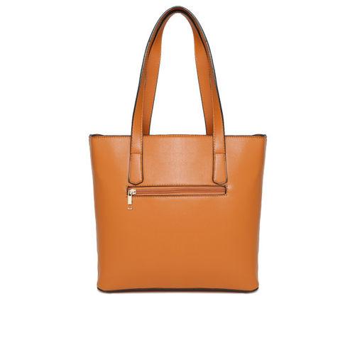 Mast & Harbour Brown Textured Shoulder Bag
