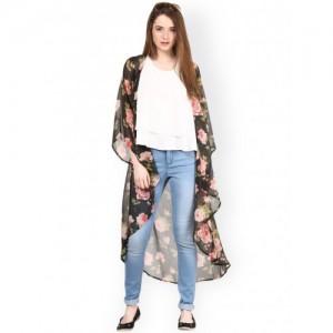9c64ba229 Buy latest Women's Blazers, Denim Jackets & Shrugs On Myntra online ...