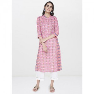 Global Desi Women Printed Straight Kurta