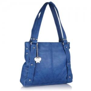 Butterflies Blue Handbag