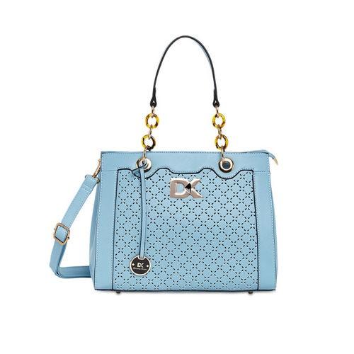 Diana Korr Blue Solid Handheld Bag