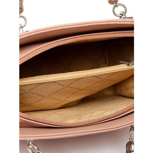 Lino Perros Dusty Pink Solid Handheld Bag