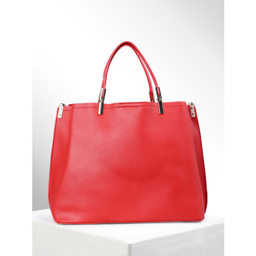 CORSICA Red Solid Handheld Bag