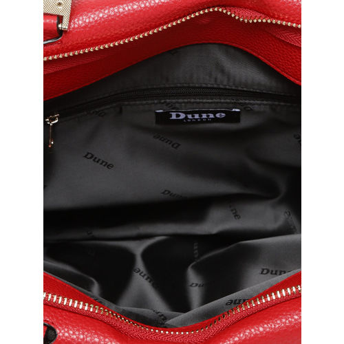 Dune London Red Solid Handheld Bag