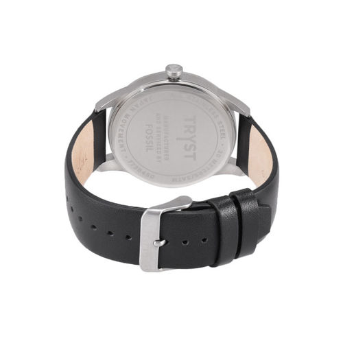 TRYST Manufactured & Serviced by Fossil Men Black Watch